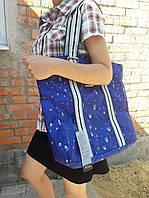 Женская сумка Dolly 458 классическая текстильная с рисунком один отдел 36х35х18 см, фото 1