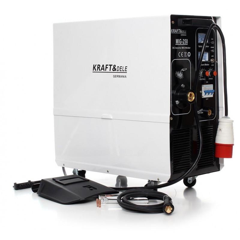 Сварочный аппарат инверторный Kraft&Dele 250A
