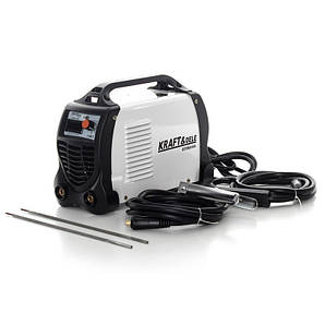 Зварювальний апарат інверторний Kraft & Dele MMA 250A LCD 230V