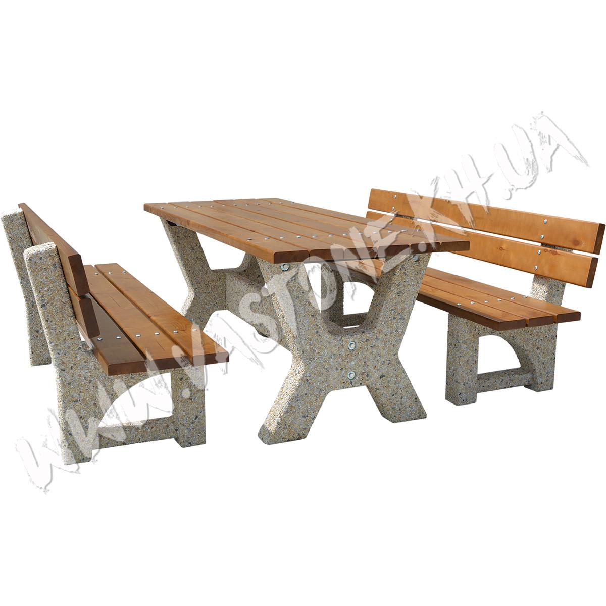 """Садовый стол со скамейками «Гарден - Верона"""""""