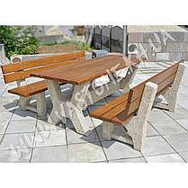 """Садовый стол со скамейками «Гарден - Верона"""", фото 3"""