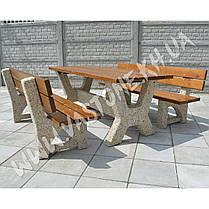"""Садовый стол со скамейками «Гарден - Верона"""" , фото 3"""