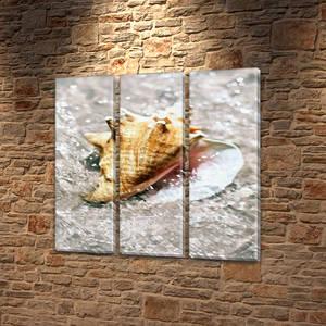 Модульные картины на кухню на Холсте, 95x95 см, (95x30-3)