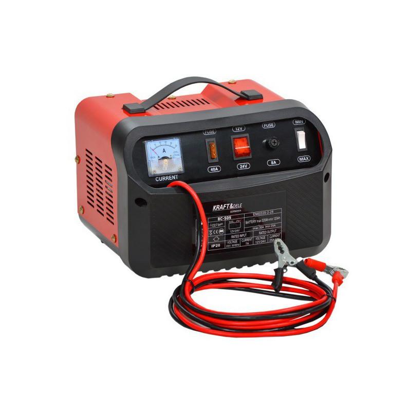 Зарядное устройство Kraft& Dele 12/24V 10A 60Ah