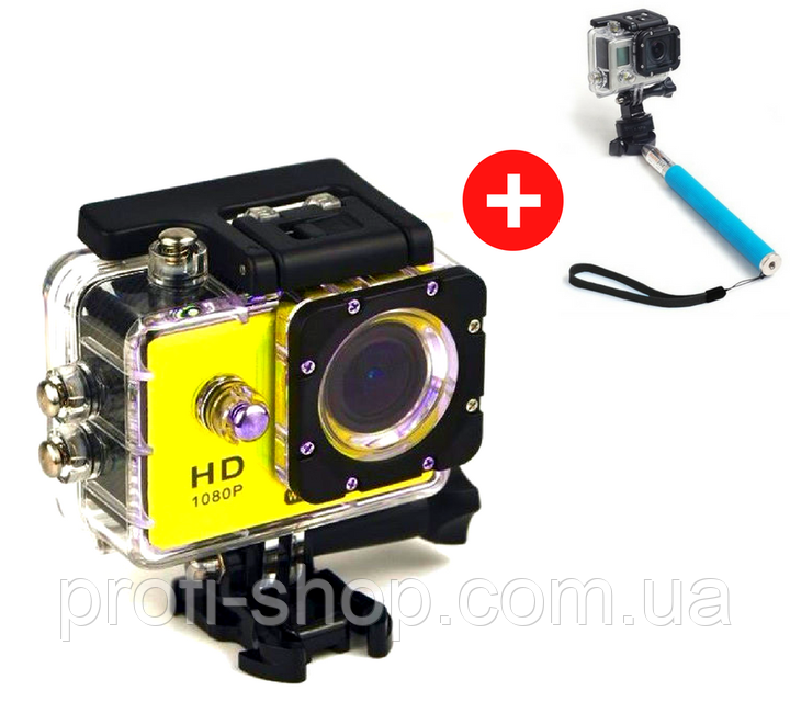 Экшн камера Action Camera F71 WiFi Full HD