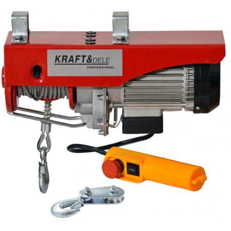 Электрическая лебедка Kraft&Dele 250 кг