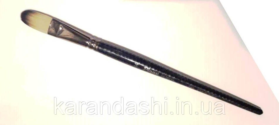 Кисть Pinax Hi-Tech 246 Синтетика № 14 Плоскоовальная , фото 2