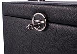 Шкатулка для ювелирных изделий LELANI Черная / Бежевая, фото 9