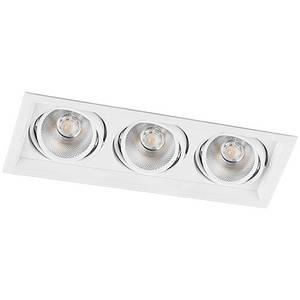 Карданний світильник LED AL203 3xCOB 12W 4000K розмір 370х145х73 мм