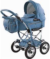 Коляска детская универсальная 2 в 1 Tako всесезонная Mille №678, Польша, цвет голубой, надувные колеса