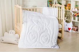 Мишко дитячий набір ковдра + подушка Ідея