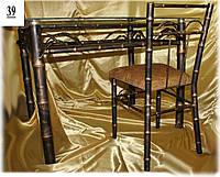 """Кованый стул """"Бамбук""""."""