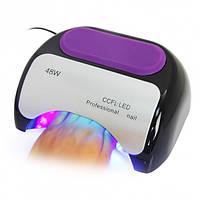Лампа LED + CCFL для гель-лаков и для геля, спираль 48 Вт,