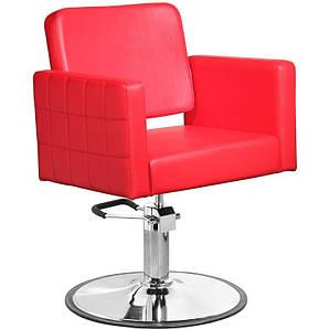 Парикмахерское кресло Gabbiano красное