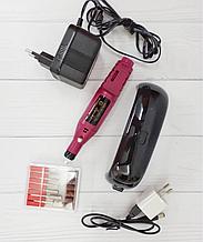 Набір ЛЭД лампа 9 Вт + Фрезер для нігтів МІНІ портативний