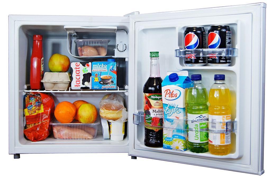 Небольшой холодильник для офиса + МОРОЗИЛЬНИК BC-48 A + БЕЛЫЙ