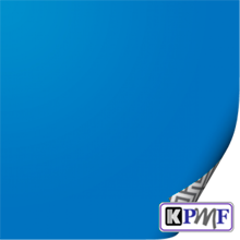 Синяя глянцевая пленка KPMF Marina K88069