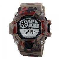 Часы Skmei 1019 Red Camouflage (1019RC)
