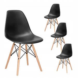 Кухонный стул MUF-ART 53×46×83 cм Black