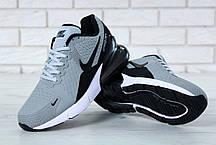 ea808feb Мужские кроссовки Nike Air Max Flair 270 KPU Grey/Black купить в ...