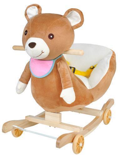 Кресло медвежонок на колесах