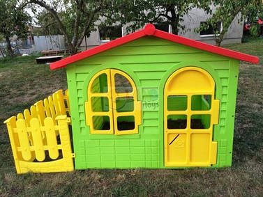 Детский садовый домик+ заборчик! Хит продаж! MochToys