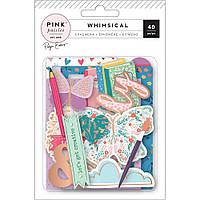 Висічки з мідним фольгуванням - Whimsical - Pink Paislee