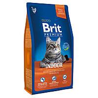 Корм Brit Premium Cat Indoor для кошек, живущих в помещении, 8 кг