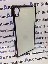 Чехол для 2D сублимации пластиковый на Sony Xperia Z2 черный, фото 3