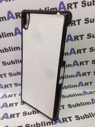 Чехол для 2D сублимации пластиковый на Sony Xperia Z2 черный, фото 2