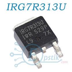 IRG7R313U, Транзистор IGBT, 330В 160А, TO252