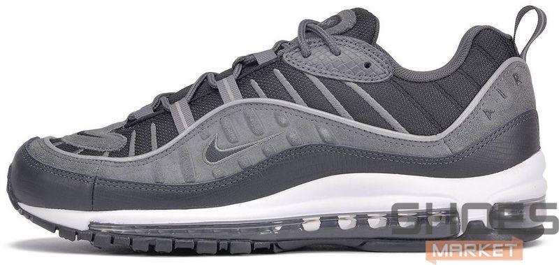 Мужские кроссовки Nike Air Max 98 Black Anthracite AO9380-001, Найк Аир Макс 98