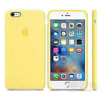 Чехол Soft Silicone Case для Apple iPhone 6/6S Желтый, фото 1