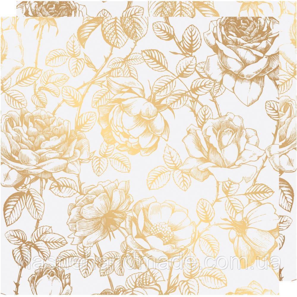 Калька - Floral - Emerson Lane - Heidi Swapp - 30х30