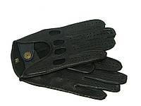 Перчатки автомобильные мужские из кожи оленя Alpa Gloves