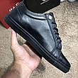 Мужские кроссовки Philipp Plein Lo-Top Sneakers Hexagonal Black, фото 4