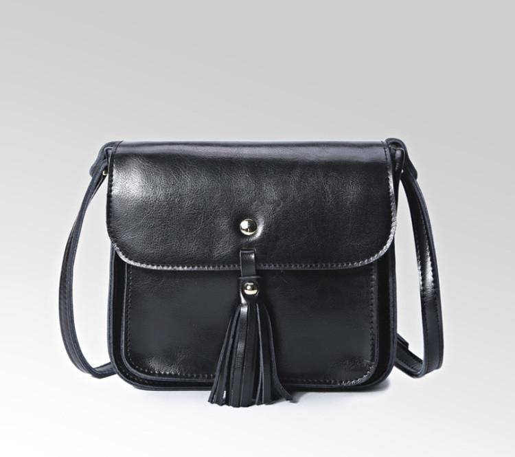 Небольшая женская кожаная сумочка
