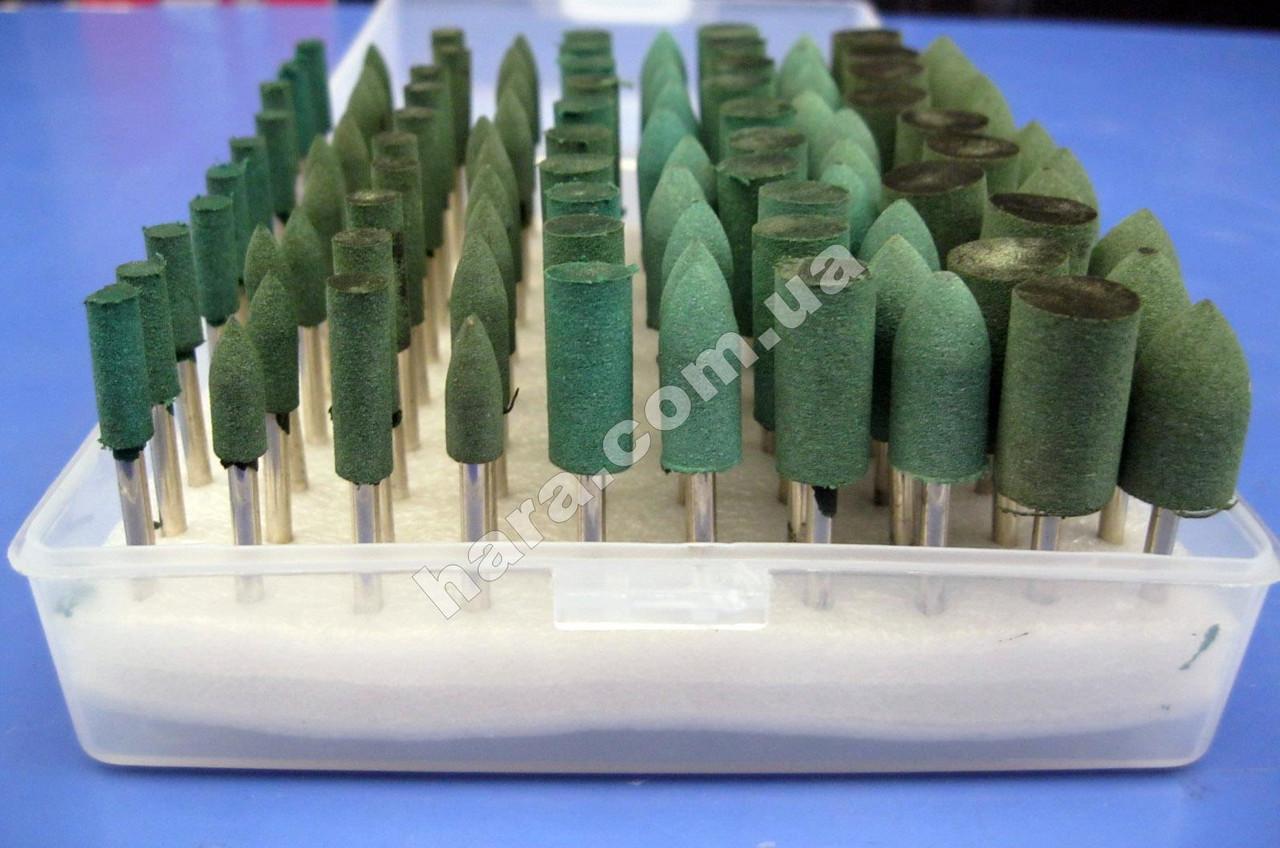 Набор резиновых шарошек для гравера 100 шт