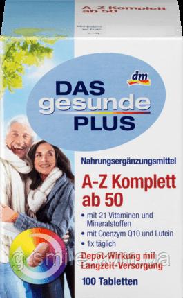 Mivolis DAS gesunde PLUS A-Z Komplett ab 50 Tabletten, 100 St