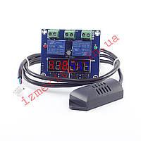 Контроллер температуры и влажности XH-M452 12v, фото 1