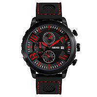 Часы Skmei 9153 BK-Red BOX (9153BOXBKR)