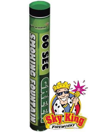 Ручной цветной дым SMOKING  для фото сессий 60 сек зеленый. MA0512