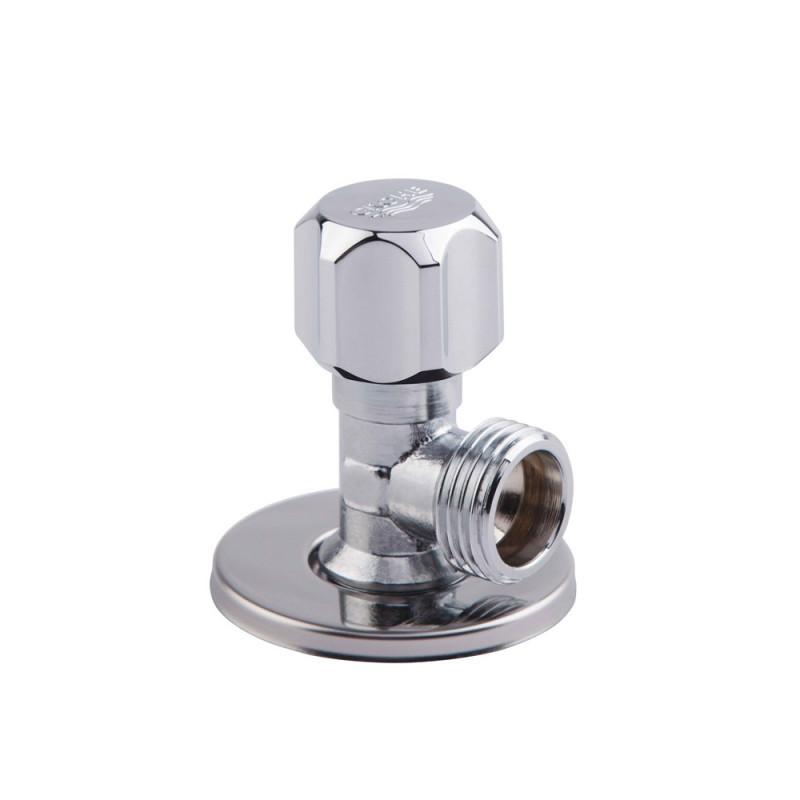 Угловой вентиль 1/2 на 1/2 Grohe 2201600M хром