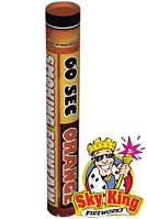 Ручной цветной дым SMOKING  для фото сессий 60 сек оранжевый. MA0512