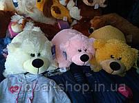 Подушка мягкая игрушка на липучке Мишка  медведь трансформер 2 в 1 ,размеры 43*43, фото 2
