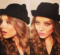 Женская фетровая шляпка