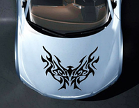 Виниловая наклейка на автомобиль Летучая мышь 1