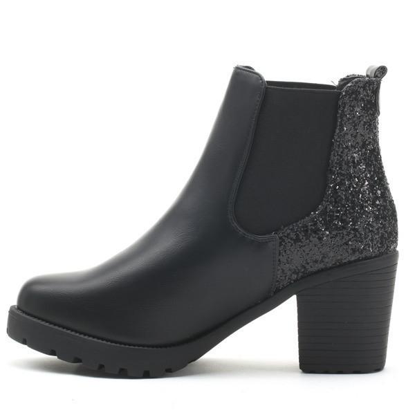 9e097ade5543 Демисезонные женские ботинки на квадратном каблуке , выбрать из Ботинок  женских ...