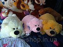 Подушка мягкая игрушка на липучке Мишка  медведь трансформер 2 в 1 ,размеры 43*43, фото 6