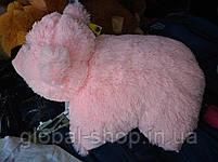 Подушка мягкая игрушка на липучке Мишка  медведь трансформер 2 в 1 ,размеры 43*43, фото 8